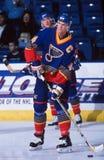 Chris Pronger. St. Louis Blues star Chris Pronger. Image taken from color slide royalty free stock photos