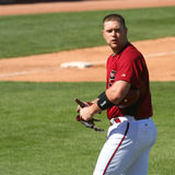 Chris Snyder in an Arizona Diamondbacks game Stock Images