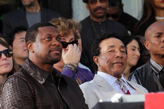 Chris Tucker, Michael Jackson, Smokey Robinson Stock Photos