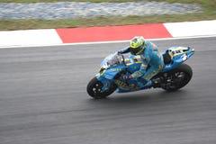 Chris Vermeulen on track Stock Photos