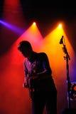 Chris Walla, guitarrista del taxi de la muerte para Cutie Imagenes de archivo
