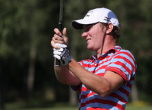 Chris Wood at golf French Open 2010 Royalty Free Stock Images