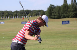Chris Wood at golf French Open 2010 Stock Image