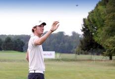 Chris Wood, Vivendi golf cup, sept 2010 Stock Image