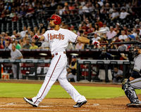 Chris Young of the Arizona Diamondbacks Royalty Free Stock Image