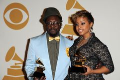 Chrisette Michele, will i am, Will.  Royalty Free Stock Photos