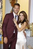 Chrishell Stause and Justin Hartley Stock Photo