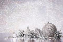 Chrismas和新年背景 免版税库存照片
