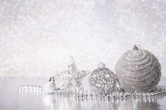 Chrismas和新年背景 免版税库存图片