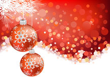 Chrismas background Stock Photos