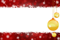 Chrismas background Stock Images