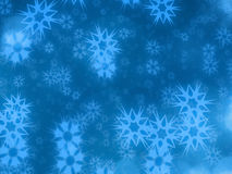 Chrismas background in blue stock image