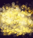 Chrismas background. Chrismas  background with golden beams and sparkles Royalty Free Stock Photo