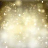 Chrismas  background with sparkles Stock Photo