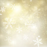 Chrismas  background with sparkles. Chrismas silver  and gold background with bright  sparkles and snowflakes Stock Image
