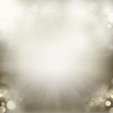 Chrismas  background with sparkles. Chrismas silver gray  background with bright  sparkles and lights Royalty Free Stock Photos