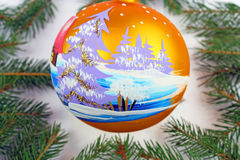 Chrismas ball Royalty Free Stock Photography