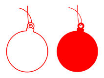 Chrismas ball Royalty Free Stock Photo