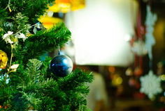 Chrismas balls and decoration Royalty Free Stock Image