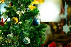 Chrismas balls and decoration Stock Images