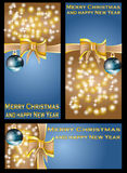 Chrismas banners Stock Photo