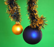 Chrismas baubles Royalty Free Stock Photo