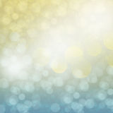 Chrismas blue and golden background. With bright beams and sparkles Royalty Free Stock Photo