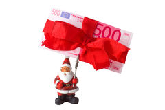Chrismas bonus Stock Images