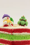 Chrismas Cake Stock Photography