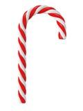 Chrismas candy cane isolated Stock Photo