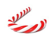 Chrismas candy cane  Stock Photography
