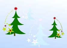 Chrismas card Stock Images