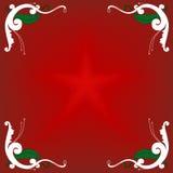 Chrismas decoration. Fancy border decoration for christmas Royalty Free Stock Images