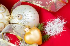 Chrismas decorations Royalty Free Stock Image