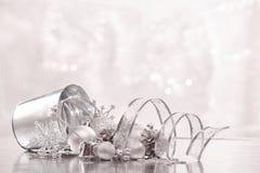 Chrismas en Nieuwjaarachtergrond Royalty-vrije Stock Foto