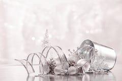 Chrismas en Nieuwjaarachtergrond Royalty-vrije Stock Foto's