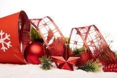 Chrismas en Nieuwjaarachtergrond Royalty-vrije Stock Afbeeldingen