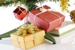 Chrismas Gift Box Stock Photos