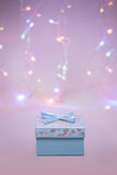 Chrismas gift box Royalty Free Stock Images