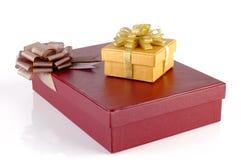 Chrismas Gift Boxes Stock Photography