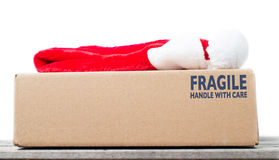 Chrismas gift special delivery concept Stock Photo