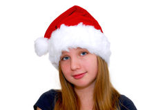 Chrismas girl Stock Images