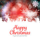 Chrismas greeting card Royalty Free Stock Photo