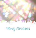Chrismas greeting card Stock Photography