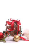 Chrismas house Royalty Free Stock Image