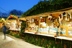 Chrismas Market Baden-Baden Germany Royalty Free Stock Photo
