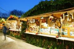 Chrismas-Markt Baden-Baden Germany Lizenzfreies Stockfoto