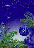 Chrismas night Royalty Free Stock Images