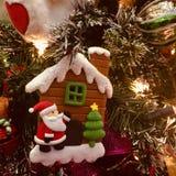 Chrismas Ornaments. Beautiful Christmas ornaments on a Christmas tree Stock Photo
