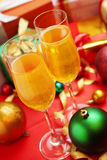 Chrismas party concept Royalty Free Stock Images